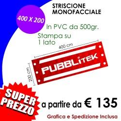 STRISCIONE 400 X 200