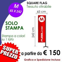Square Flag M 65 X 242 cm