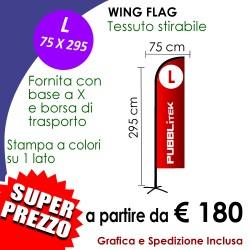 Wing Flag L 75 X 295 cm