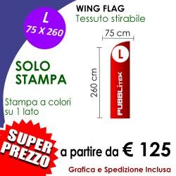 SOLO STAMPA per Wing Flag L