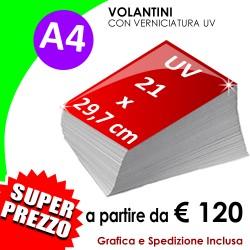 A4   (21 X 29,7 cm) UV