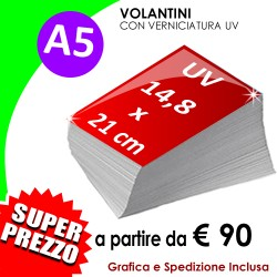 A5 (14,8 X 21 cm) UV