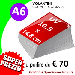 A6 (10,5 X 14,8 cm) UV