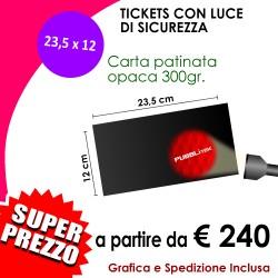 LUCE DI SICUREZZA (23,5 X 12,0 cm)