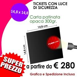 LUCE DI SICUREZZA (14,8 X 14,8 cm)